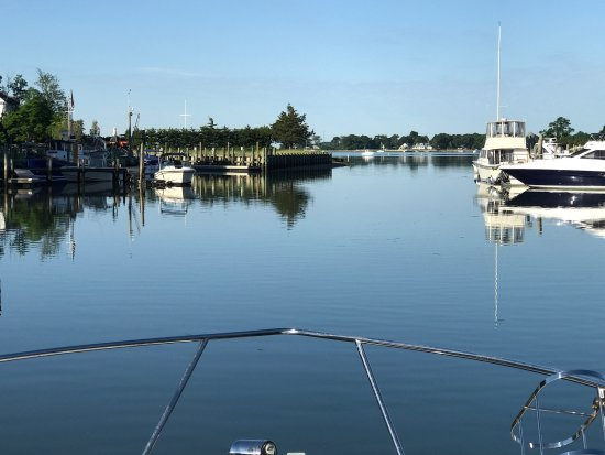 Sag Harbor, Нью-Йорк: Expericence the beauty of private coves and estuaries.