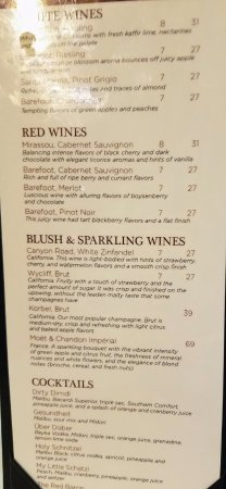 Franklin Square, NY: They got wines too!