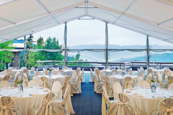Snowmass Village, CO: Garden Terrace Tent