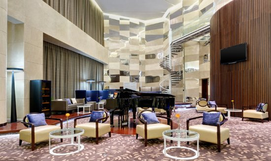 Yuhuan City, China: Lobby Lounge
