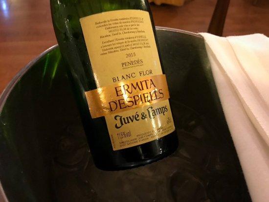 Lavern, İspanya: Great wine