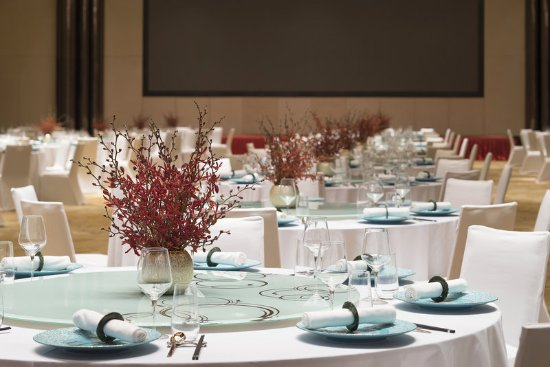 Changde, Cina: Grand Ballroom - Chinese Wedding Setup