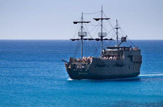 Ayia Napa Harbour The Black Pearl...
