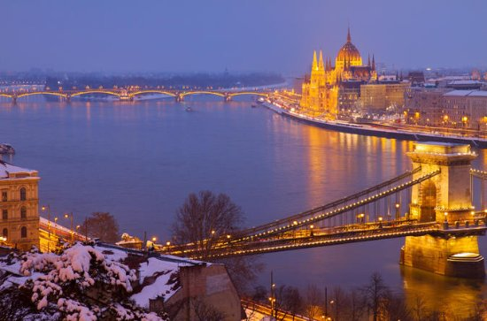 Budapest Christmas River Cruise with...