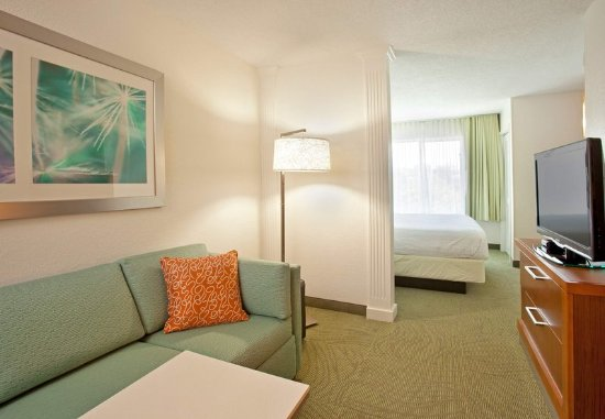 SpringHill Suites Nashville MetroCenter: King Suite Living Area