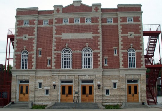 Concordia, KS: Spend a day at the Brown Grand Opera House.