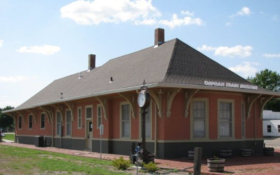 Concordia, KS: Be sure to visit the National Orphan Train Complex.