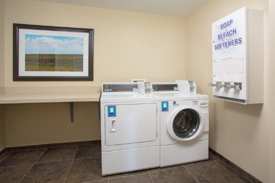 Concordia, KS: 24 hour coin operated laundry facility.