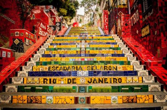 Centre historique de Rio de Janeiro - Tour incluant le transport et...