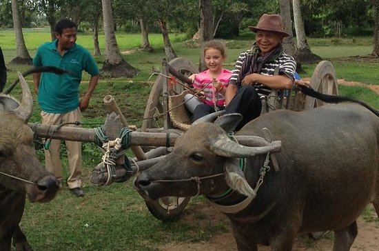 A Day in Rural Cambodia from Siem Reap