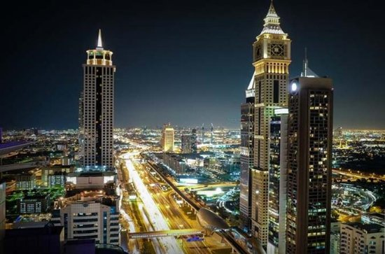 Dubai Skyline Private Night Tour