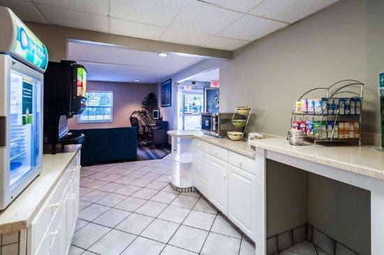 Solomons, Μέριλαντ: Breakfast Area