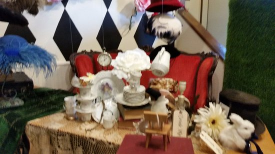 Sandpoint, ID: The Mad Hatter's tea party.