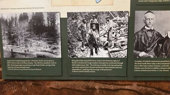 Sandpoint, ID: Early Idaho workers and residents.