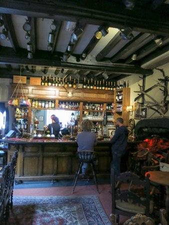 The Luttrell Arms: The bar