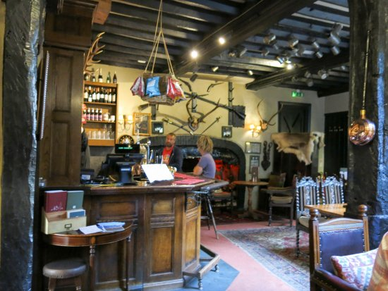 The Luttrell Arms: Full of character and history
