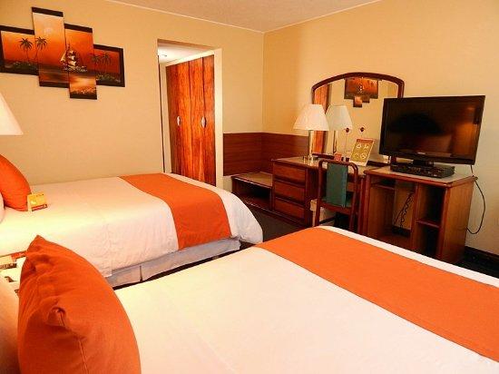 Hotel republica quito quateur voir les tarifs et for Media room guest bedroom