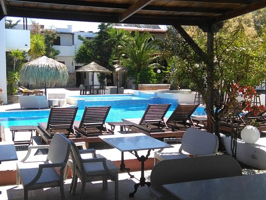 Kastraki, Griechenland: view from the restaurant