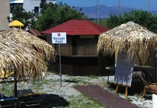 Kastraki, Griechenland: massage room