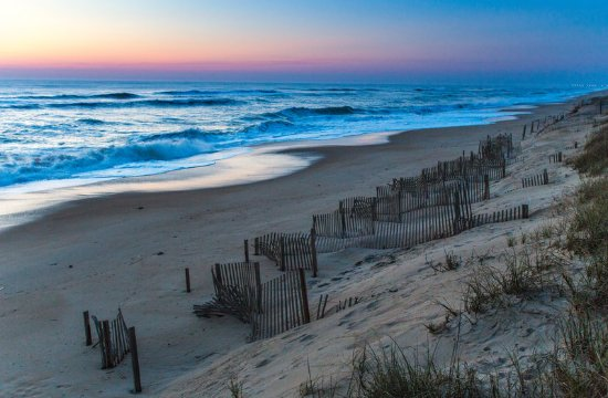 Holiday Inn Express Nags Head Oceanfront: Start your day off right by watching the sunrise!
