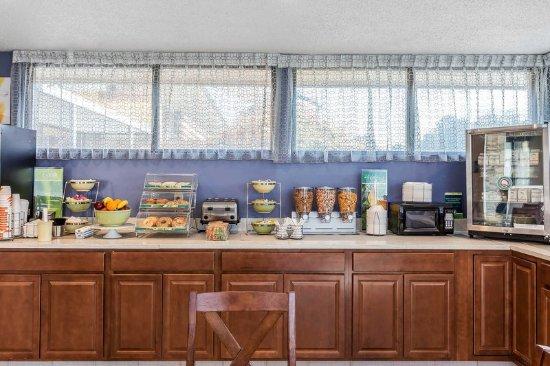 อาเบอร์ดีน, นอร์ทแคโรไลนา: Breakfast area