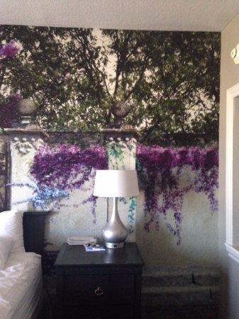 Wyndham Grand Desert: Master bedroom wall mural