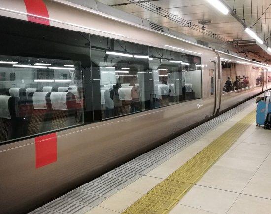Kanto, Japon : There are many Odakyu Limited Express Romancecar going from Shinjuku to Hakone