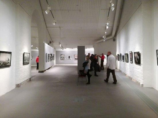 Salon taidemuseon sisätilaa