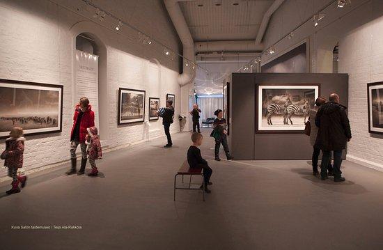 Salo, Finland: Museon näyttelytila.