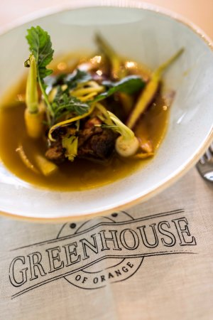 Mercure Orange: Lunch at the Greenhouse
