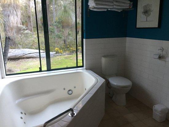 Metricup, Australien: Bathroomin 2 bedroom chalet