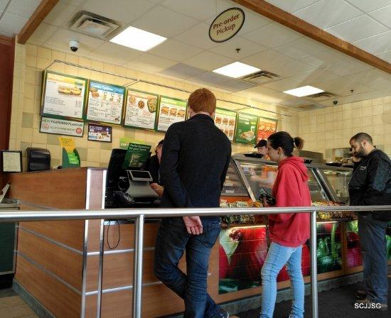 Selkirk, Canadá: Subway