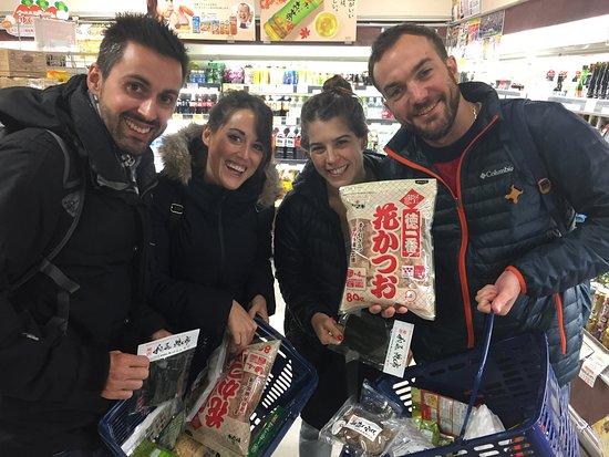 Arakawa, Japan: Okonomiyaki class and local supermarket tour with YUCa