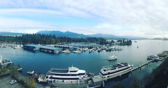 The Westin Bayshore, Vancouver: this picture show point of view from my room 1090, great.