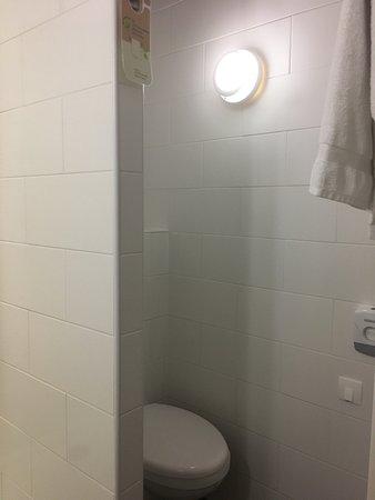 Ibis Styles Saint Julien en Genevois Vitam: Functional bathroom