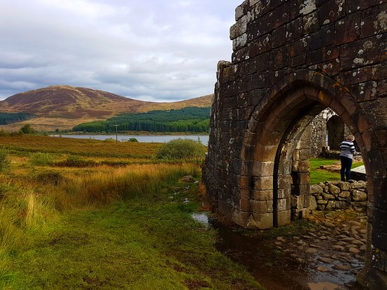 Galloway Forest Park, UK: Loch Doon Castle