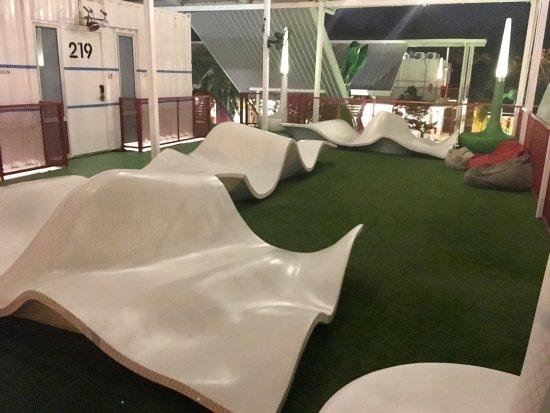 Cyberjaya, Maleisië: Lobby and gym