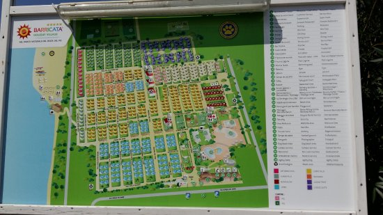 Bonelli, Ιταλία: pianta villaggio