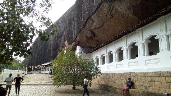 دامبولا, سريلانكا: Golden Rock Cave Temple in Dambulla, Sri Lanka