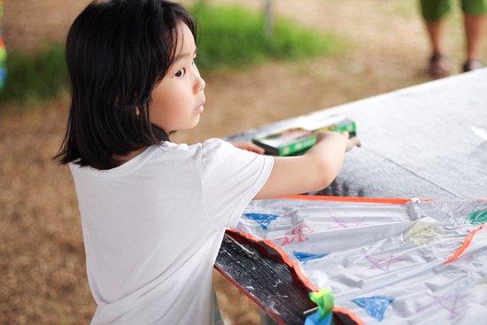 鹿野高台彩绘风筝