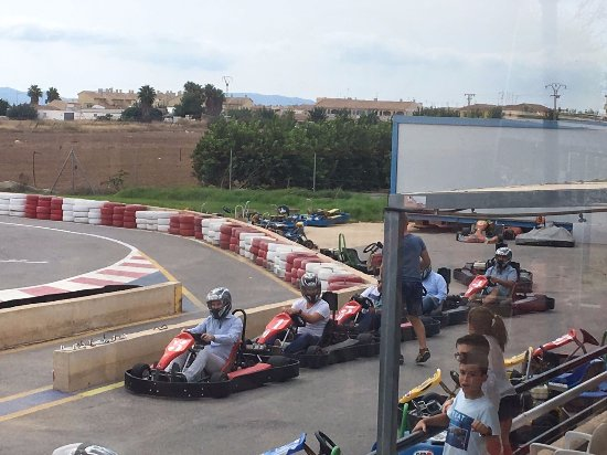 Santiago de la Ribera, Spagna: Carrera de Karts de 400cc