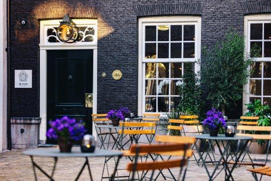 The Dylan Amsterdam: Voor terras