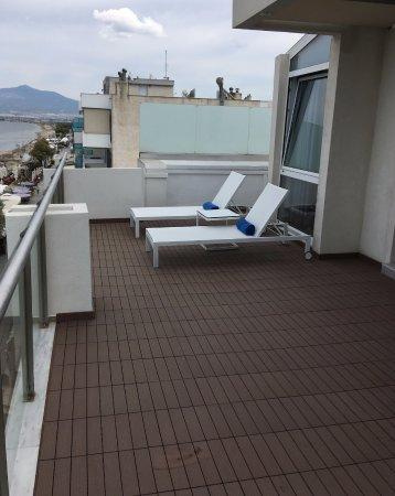 Peraia, Greece: tag terrasse uden for vores suite