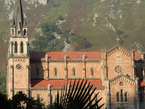 Basílica de Santa María la Real de Covadonga: View from the sanctuary
