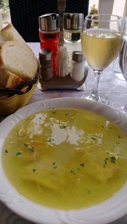 Rogoznica, Hırvatistan: Fischsuppe - sehr, sehr lecker!