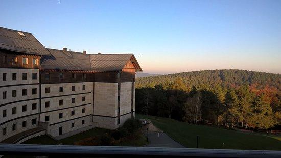 Ustrzyki Dolne, Poland: widok rano