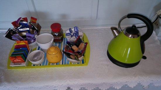 Duncannon, Irlanda: Hospitality tray