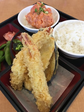 Pearl City, ฮาวาย: Spicy Ahi & BBQ