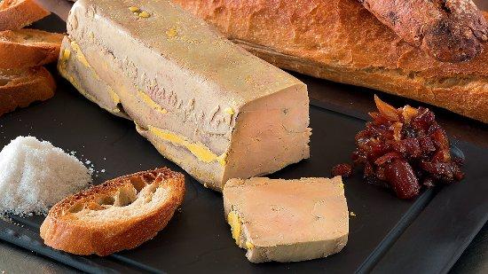 Saint-Andre-de-Najac, France: foie gras maison