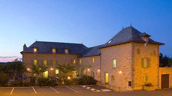 Saint-Andre-de-Najac, France: notre batisse